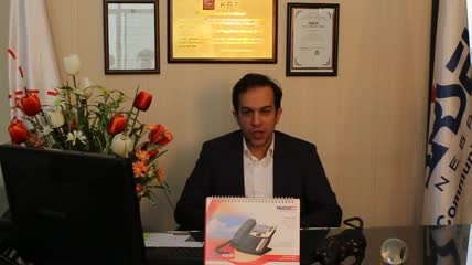 پیام تبریک دکتر علیمردانی قائم مقام پارسه نگر