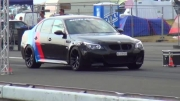 BMW M5 E60 vs BMW M3 E92 Drag Race