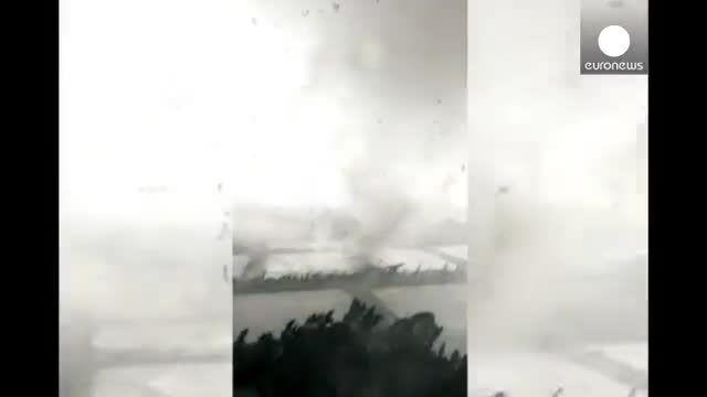 طوفان مرگبار در جنوب چین