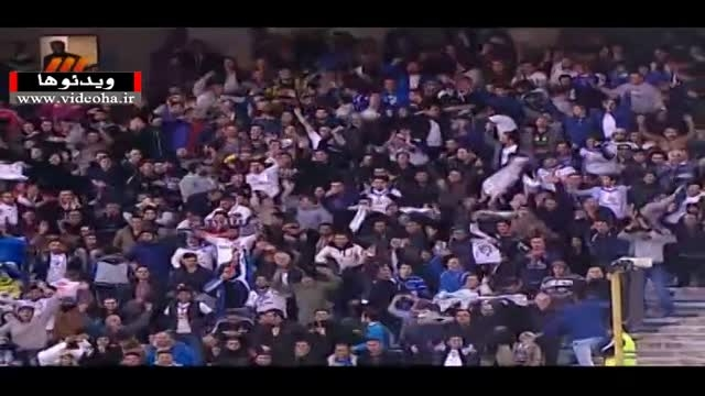 خلاصه بازی پرسپولیس ۰-۱ ملوان