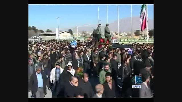تشییع پیکر شیر سامرا در کرمانشاه
