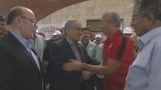 بازدید استاندار از باشگاه فولاد خوزستان