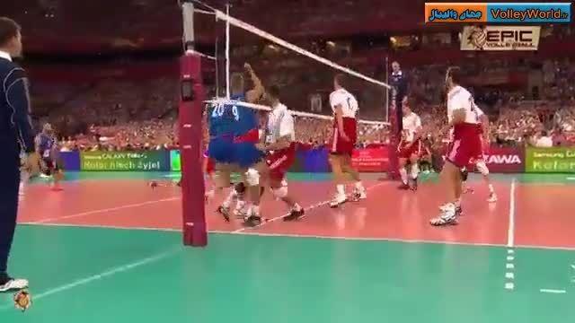 کلیپ پاس های دیدنی «زاگومنی» پاسور سابق والیبال لهستان
