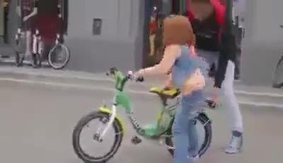 دوچرخه ای که پرواز میکند!
