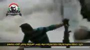 حمله خمپاره ای به تروریست ها در سوریه