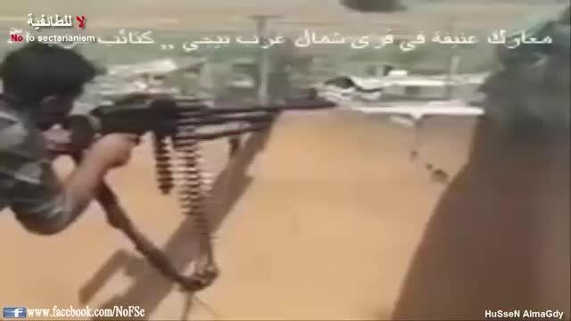 بیجی - وحشت آفرینی حزب الله عراق برای گردان فرقان داعش