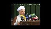 رای دادن آیت الله هاشمی رفسنجانی در جماران انتخابات 92