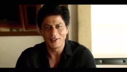 پیام تبریک عید از شاهرخ خان