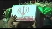 اشکنان تشییع و خاک سپاری شهید علی کیانی در اشکنان فارس