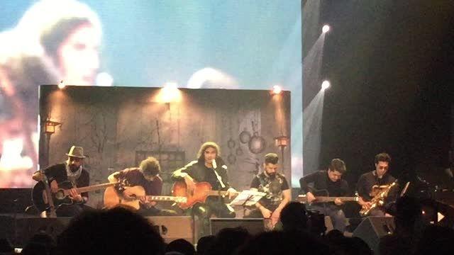 اجرای آنپلاگد رضا یزدانی در کنسرت 19 مهر
