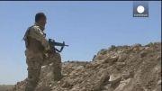 درگیری کوردها با داعش برای رها سازی سد موصل