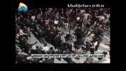 نوحه خوانی رضا صادقی در بندر عباس