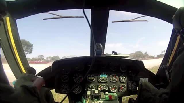 تصاویر بسیار دیدنی از هلیکوپتر رادیو کنترل Bell 205