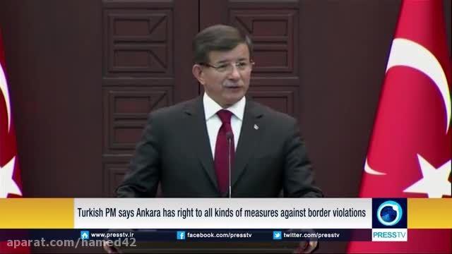 هشدار پوتین درمورد عواقب کار ترکیه (زبان انگلیسی)