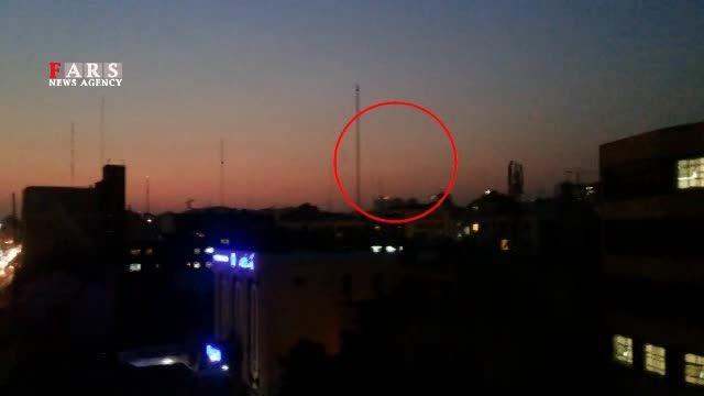 پرواز هواپیما جنگنده در ارتفاع پایین در تهران
