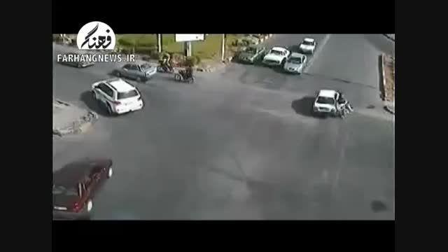 تخلفات و اتفاقات رانندگی خطرناک