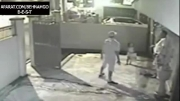 قتل پدر مقابل چشمان دخترش.شوک