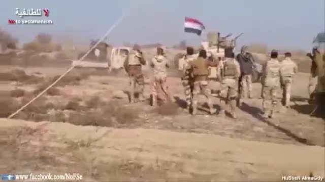 غنیمت بدست آمده از داعش بدست حشدالشعبی-عراق-سوریه