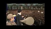 ورود مقام معظم رهبری در مصلای امام خمینی