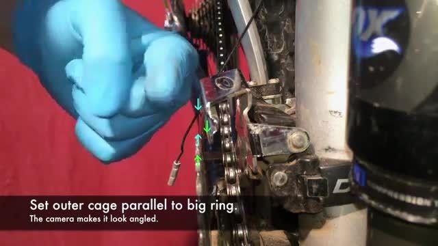 چگونه طبق عوض کن دوچرخه خود را تنظیم کنیم