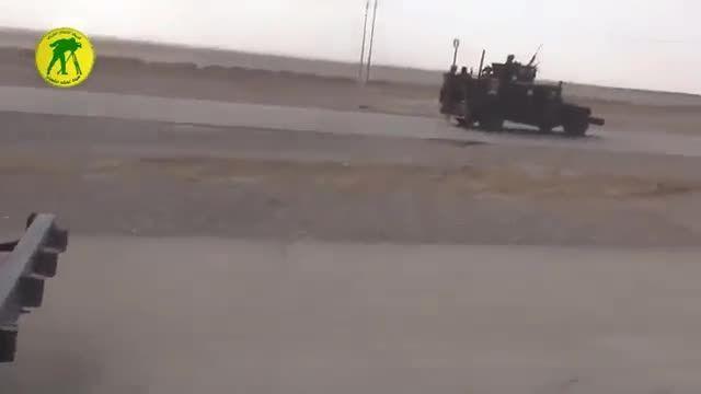 داعش زیر پای سپاه بدر عراق در بیجی