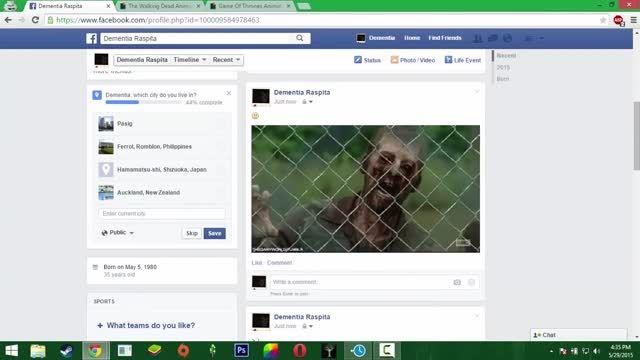 قراردادن تصاویر GIF (متحرک) در فیسبوک