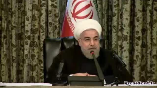 سخنان مهم روحانی درباره انتخابات 7 اسفند