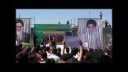 زمانیان/سخنرانی نماینده مجلس درتجمع اعتراضی علیه اصفهان