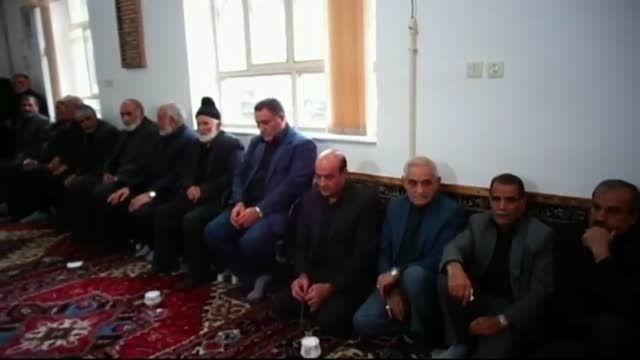 آقای وفادار فرماندار محترم ورزقان شهردار وبخشدار سابق