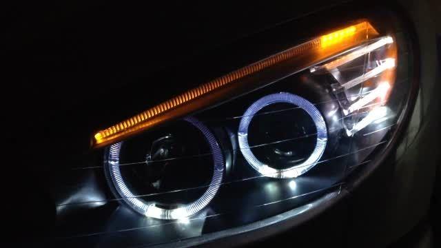 چراغ جلو ۲۰۶ طرح BMW