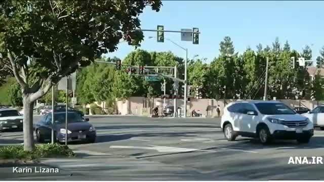 نجات راننده مست از برخورد مرگبار با قطار