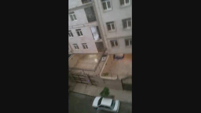 باز طوفان عظیم در تهران (28تیر94)