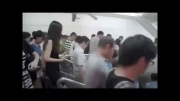 به نظر شما متروی ایران شلوغ تر است یا چین ؟