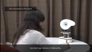Talking-Ally، اولین رباتی که توجه کاربرانش را جلب میکند