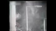 سقوط آزاد از ارتفاع 10 متری عاقبت فرار دزد......