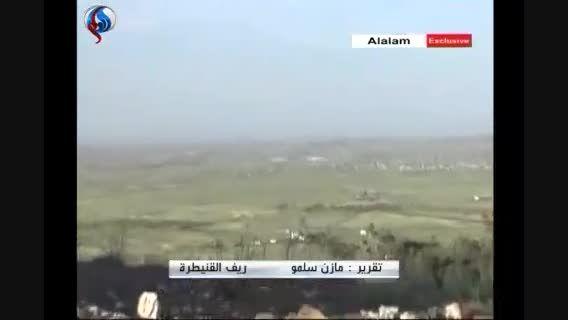 کنترل ارتش سوریه بر جاده راهبردی انتقال نفت
