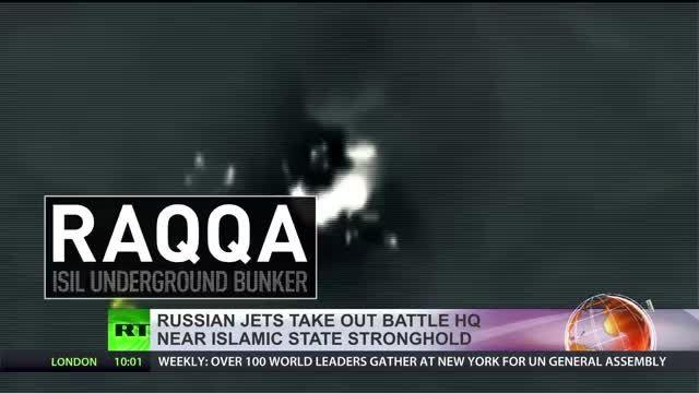صحنه هایی ار عملیات ارتش روسیه علیه داعش سوریه ، توضیحا