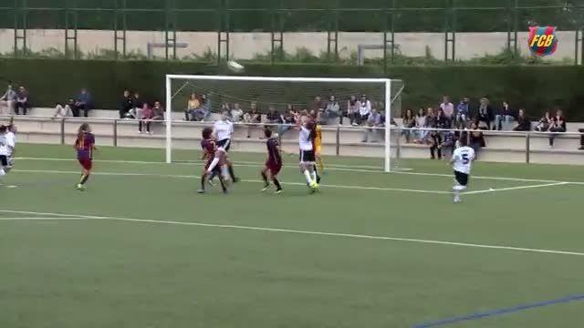هایلایت های تیم زنان بارسلونا 2 - 0 تیم زنان والنسیا