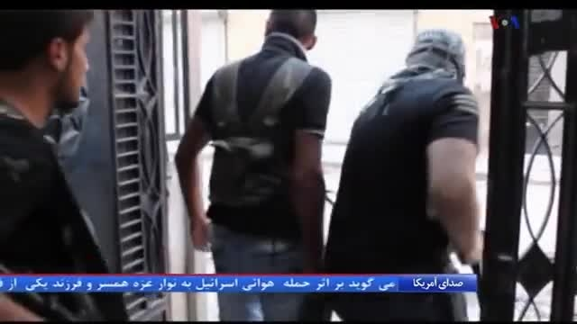 فیلم سر بریدن خبرنگار امریکایی توسط داعش