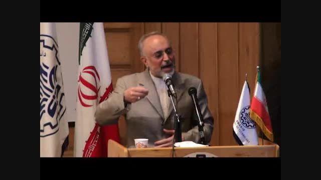 """اعتراف بزرگ صالحی:تحریم های آمریکا """"متوقف""""می شود نه لغو"""