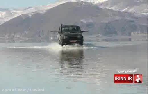 با این همه باران، دریاچه ارومیه دوباره جان گرفت