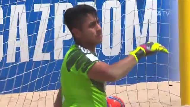 اسپانیا VS مکزیک (جام جهانی فوتبال ساحلی 2015)