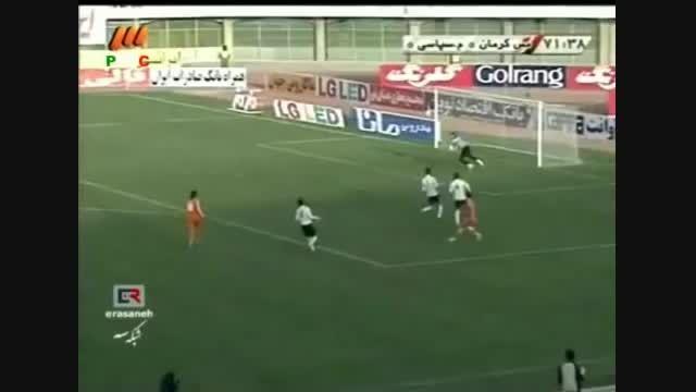 بازی قدیمی مس کرمان و فجرسپاسی در ورزشگاه باهنر کرمان