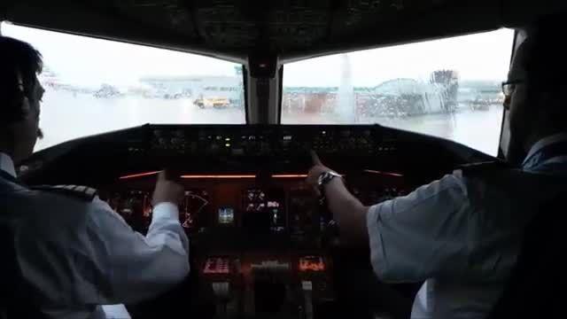 نمایش پرواز در کابین بوئینگ 777 هواپیمایی پاکستان
