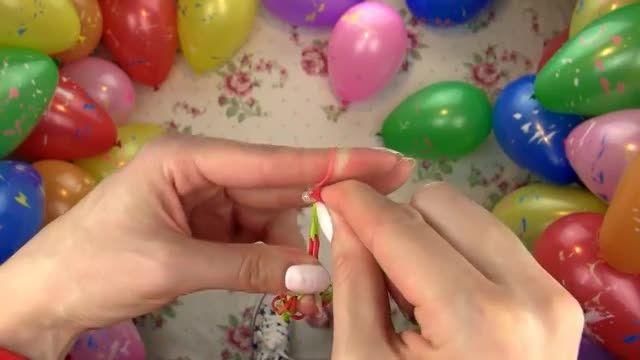 آموزش بافت پنج دستبند ساده در منزل