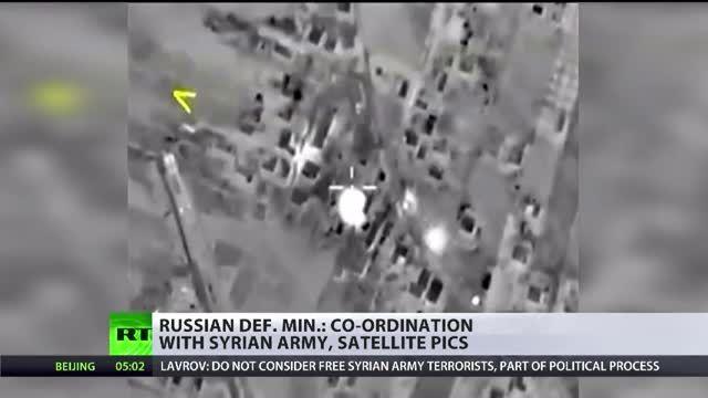 انتشار ویدئو HQ از مبارزه روسیه با تروریسم در سوریه