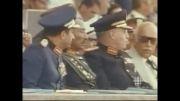 لحظه کشتن رئیس جمهور مصر انور سادات جنایتکار
