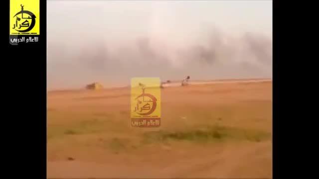فرار جمعی داعش از تکریت بسوی موصل -عراق - سوریه