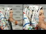 آموزش بستن روسری 4