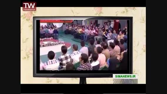 مساحبه رامبد جواب و محمد بحرایی (صدای پیشه جناب خان)